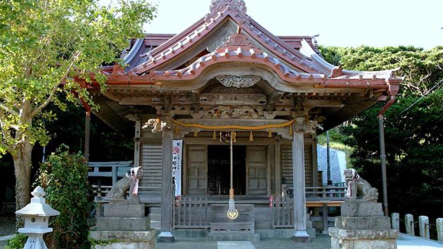 本殿(小動神社)