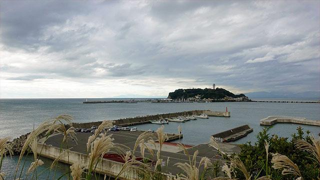 見晴台からの眺め(小動神社)