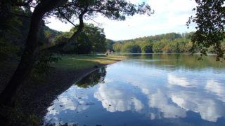 一碧湖伊豆の瞳と呼ばれるほど美しい池