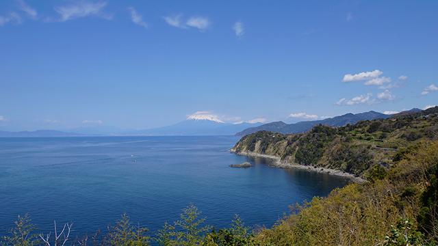 恋人岬から富士山を望む(恋人岬)