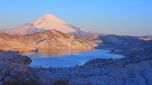 冬の大観山