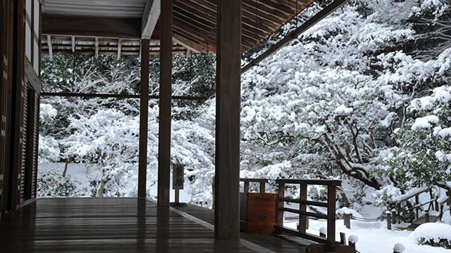 冬の方丈(南禅院)
