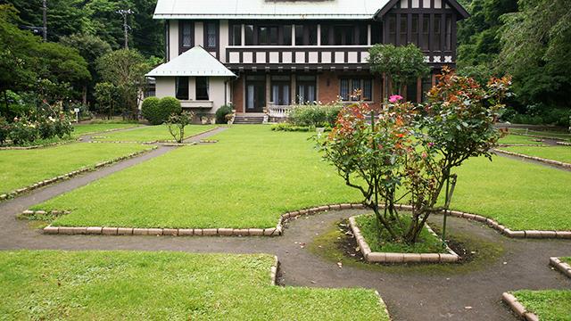 フランス式庭園(旧華頂宮邸)