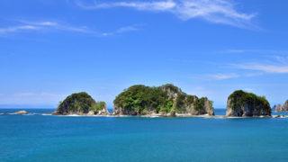 三四郎島珍しいトンボロ現象が見られる4つの島