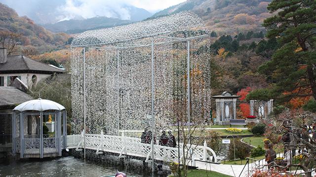箱根ガラスの森美術館(仙石原)