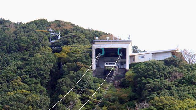 駅舎(下田ロープウェイ)