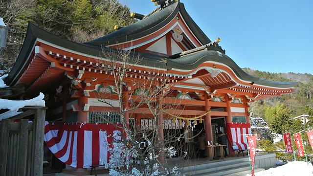 拝殿(夫婦木神社姫の宮)