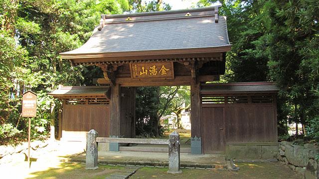 惣門(早雲寺)