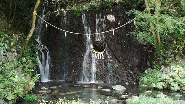 玉簾の滝(箱根湯本)