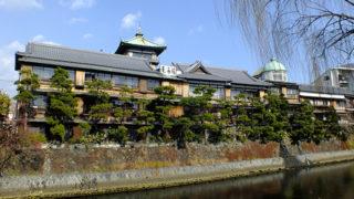 東海館昭和初期に建てられた貴重な木造建築