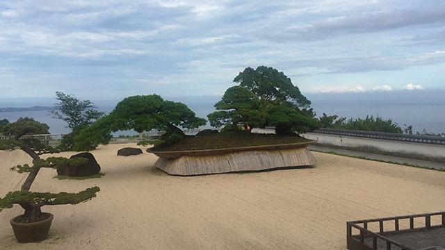 日本庭園(アカオ ハーブ&ローズガーデン)