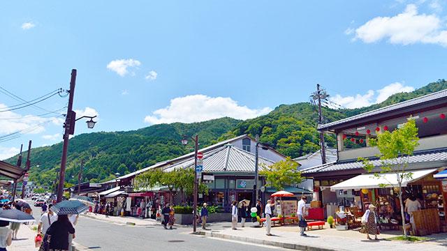メインストリート(嵐山)