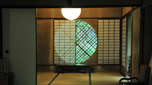 吉野窓(祇王寺)
