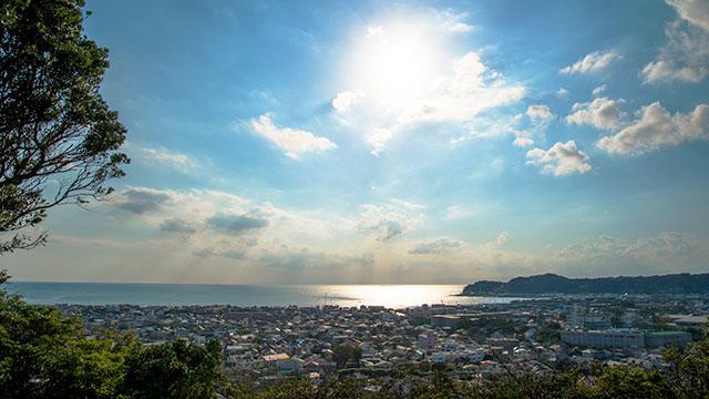 展望台からの眺望(祇園山)