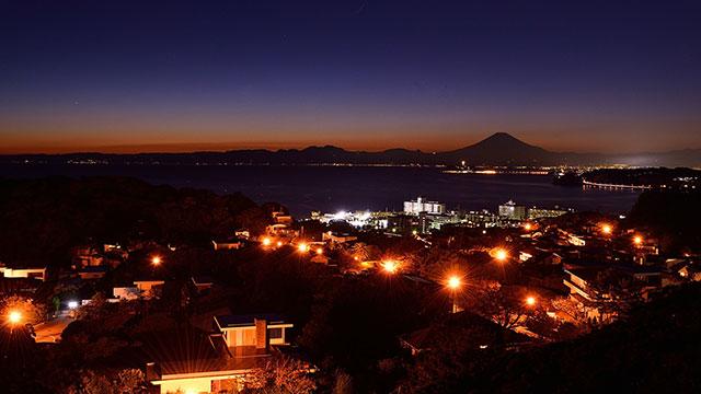 夜景(披露山公園)