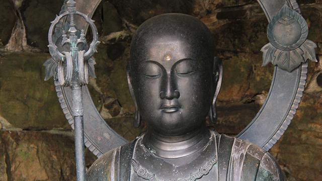 地蔵菩薩像(法然院)