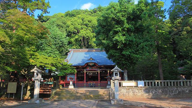 境内(伊豆山神社)