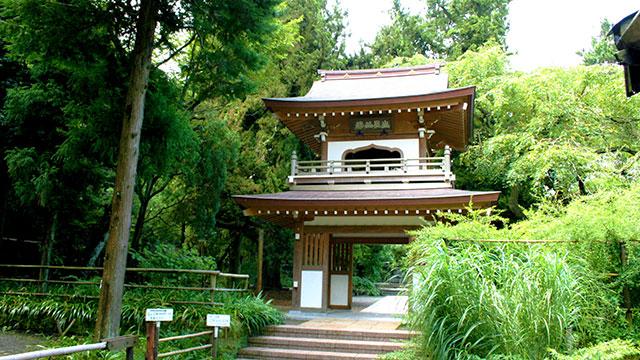 鐘楼門(浄智寺)