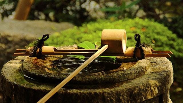 手水鉢(浄妙寺)