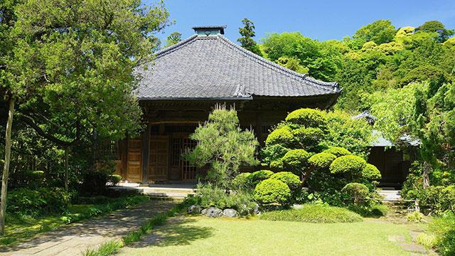 仏殿(壽福寺)