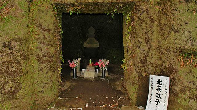 北条政子の墓(壽福寺)