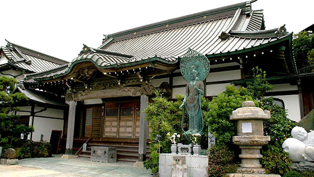 本堂(鎌倉 満福寺)