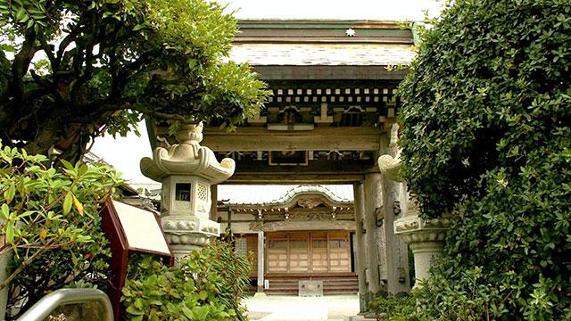 山門(鎌倉 満福寺)