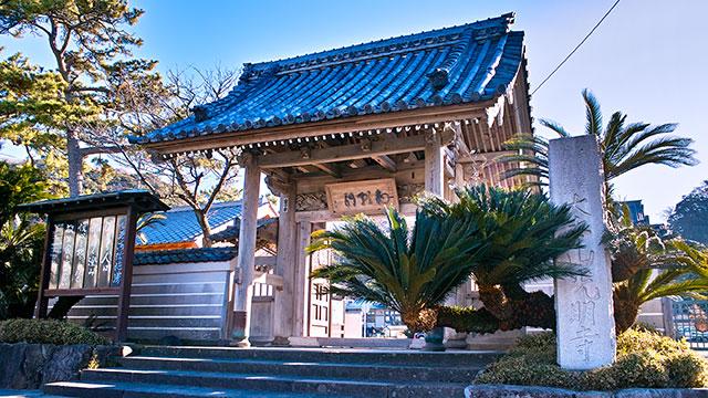 総門(光明寺)