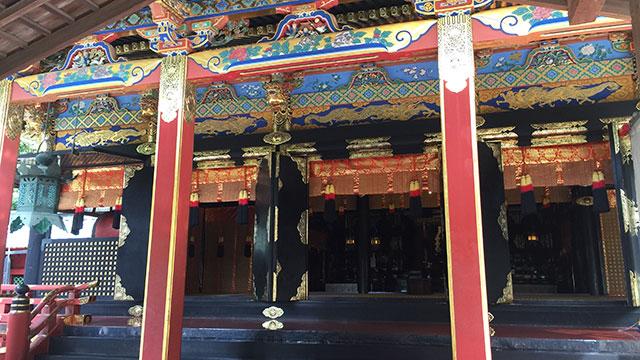 拝殿(久能山東照宮)