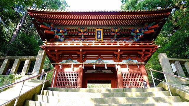 楼門(久能山東照宮)
