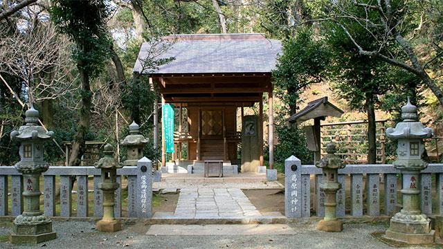 本殿(葛原岡神社)