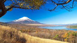 山中湖パノラマ台ダイヤモンド富士が望めるビュースポット