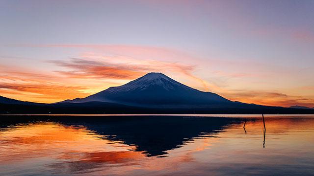 夕景(山中湖)