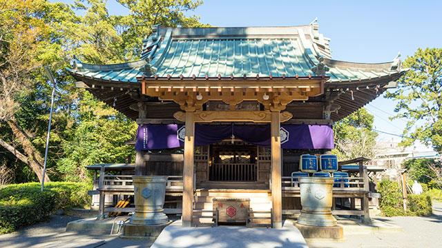 社殿(御穂神社)
