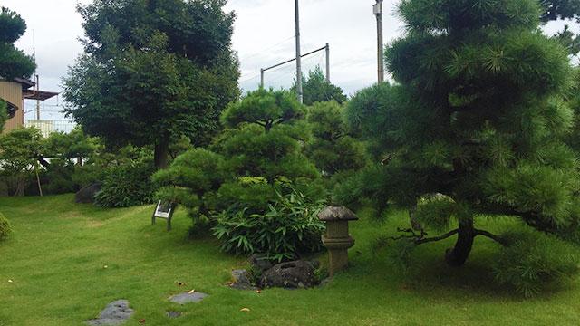 庭園(興津坐漁荘)