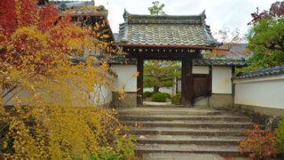 京都 三秀院開運福徳の大黒天を祀る風情ある塔頭