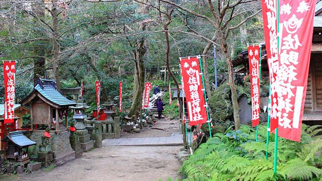 境内(佐助稲荷神社)