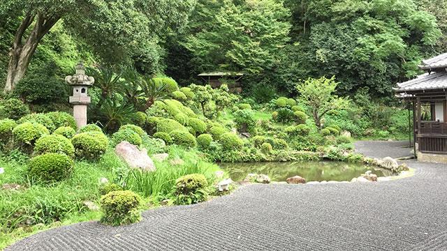 名勝庭園(清見寺)