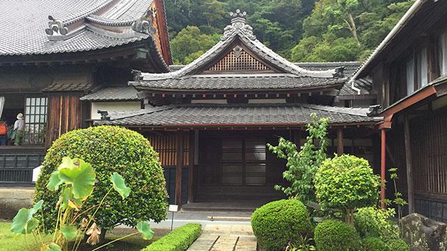 大玄関(清見寺)
