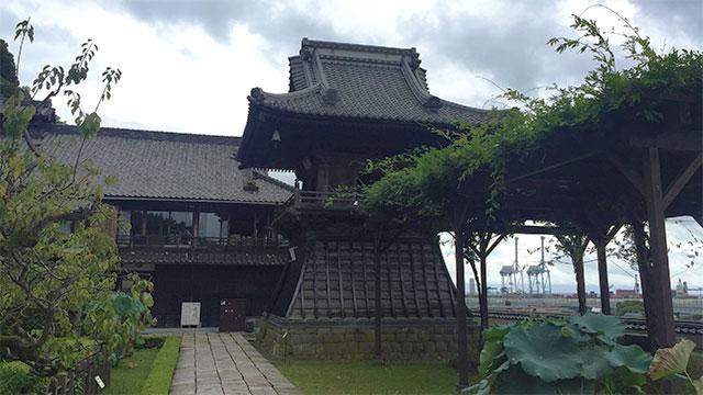 鐘楼(清見寺)