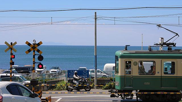 江ノ電(七里ヶ浜)