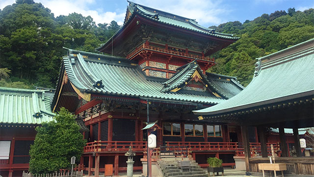 大拝殿(静岡浅間神社)