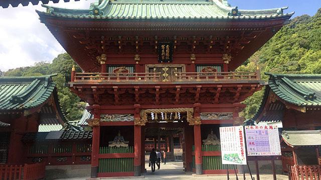 楼門(静岡浅間神社)