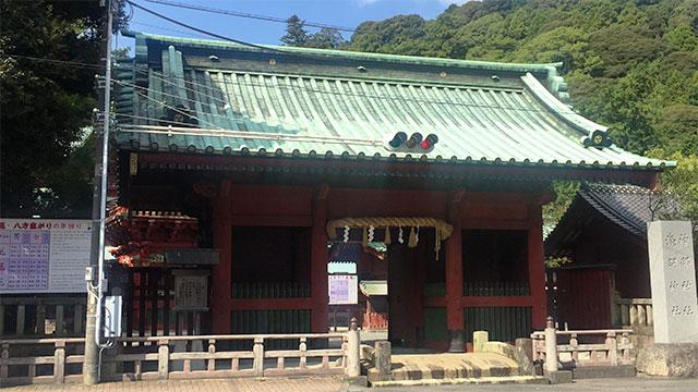 総門(静岡浅間神社)