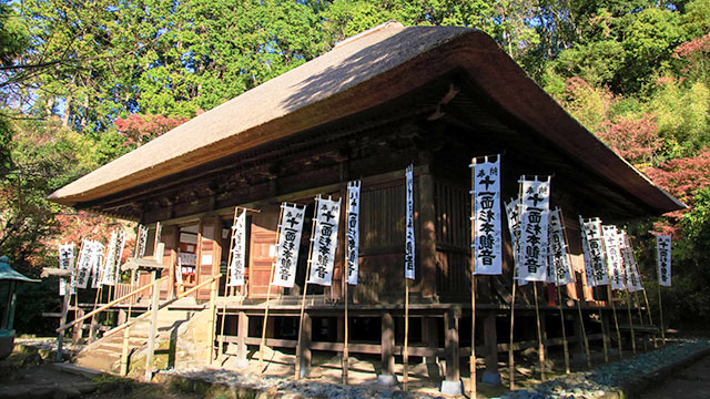 本堂(杉本寺)