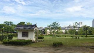 静岡 駿府城公園二重の堀と石垣に囲まれた駿府城の遺構