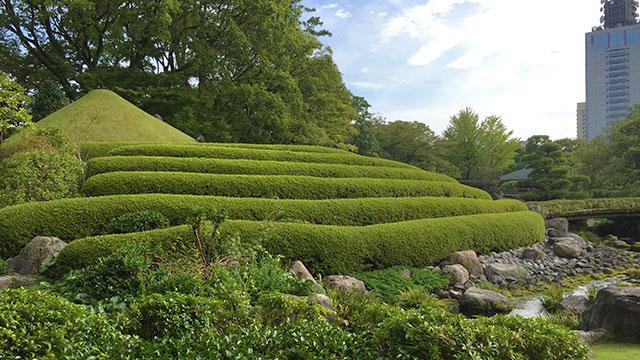 紅葉山庭園-山里の庭(駿府城公園)