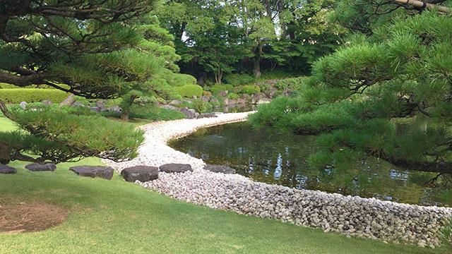 紅葉山庭園-海の庭(駿府城公園)