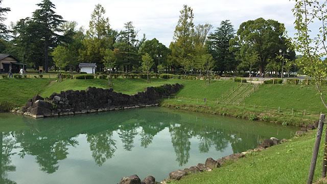 内堀跡(駿府城公園)