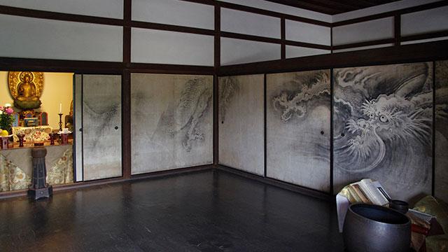 方丈内部(天龍寺)